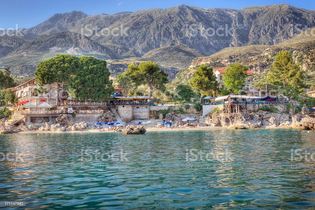 Ionian Coast stock photo