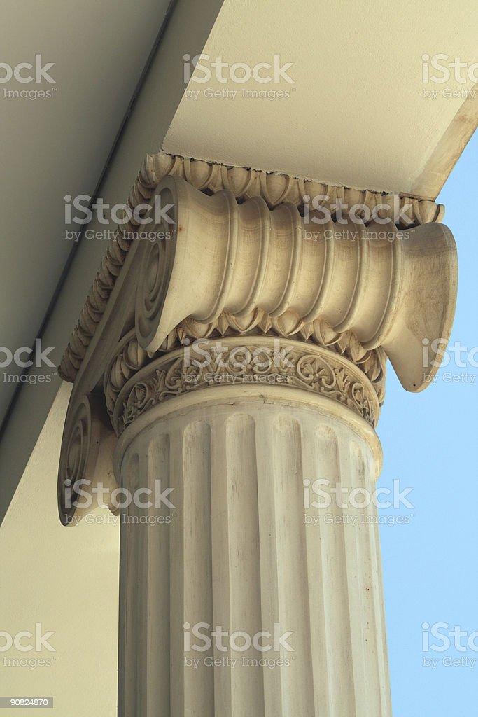 Ionic column ... royalty-free stock photo