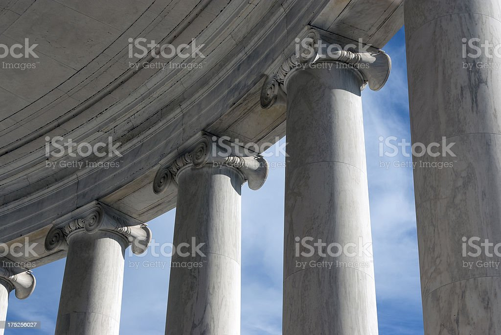 Ionic columns II royalty-free stock photo