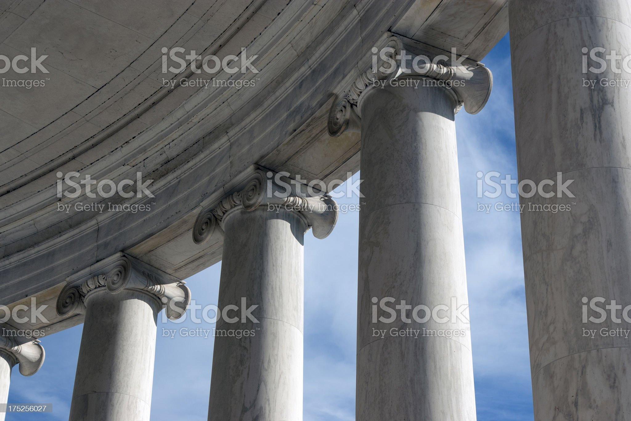 Ionic columns II royalty-free stock photo