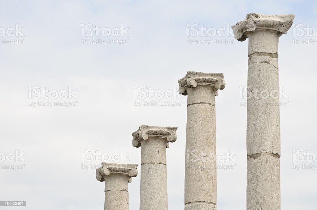 Ionic Columns stock photo