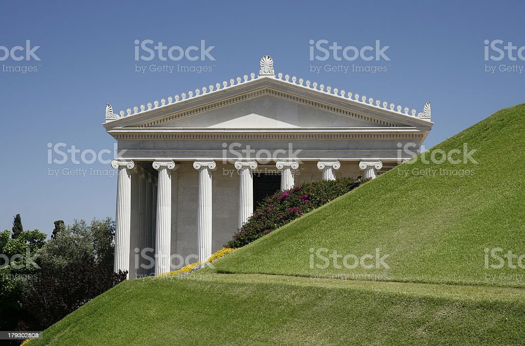 Ionic Order royalty-free stock photo