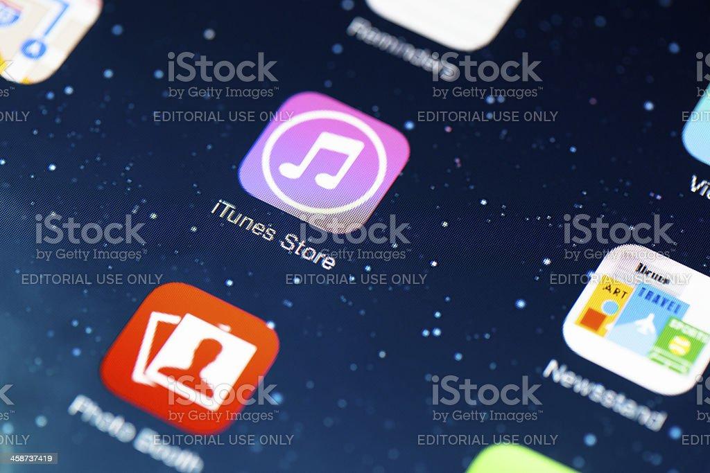 iOS 7 icon royalty-free stock photo