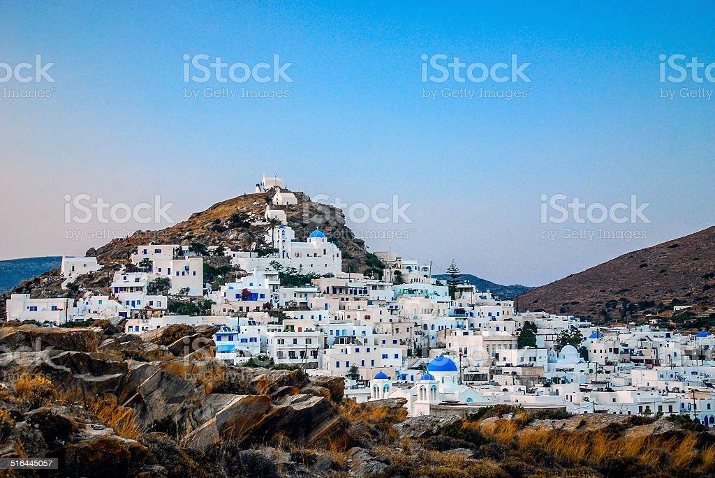 Ios, Greece stock photo