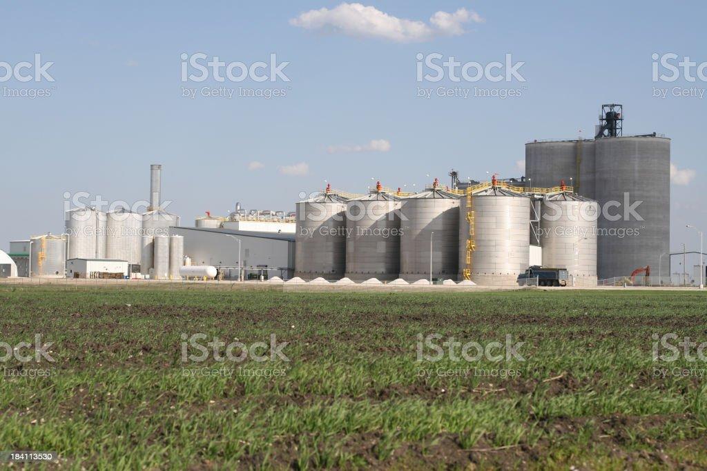 Iowa Ethanol Plant royalty-free stock photo