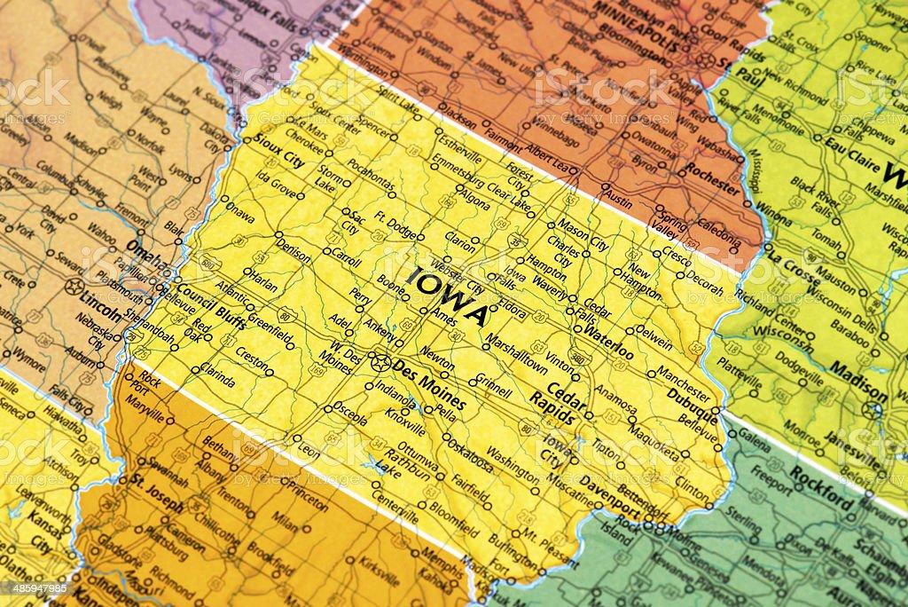 Iowa royalty-free stock photo