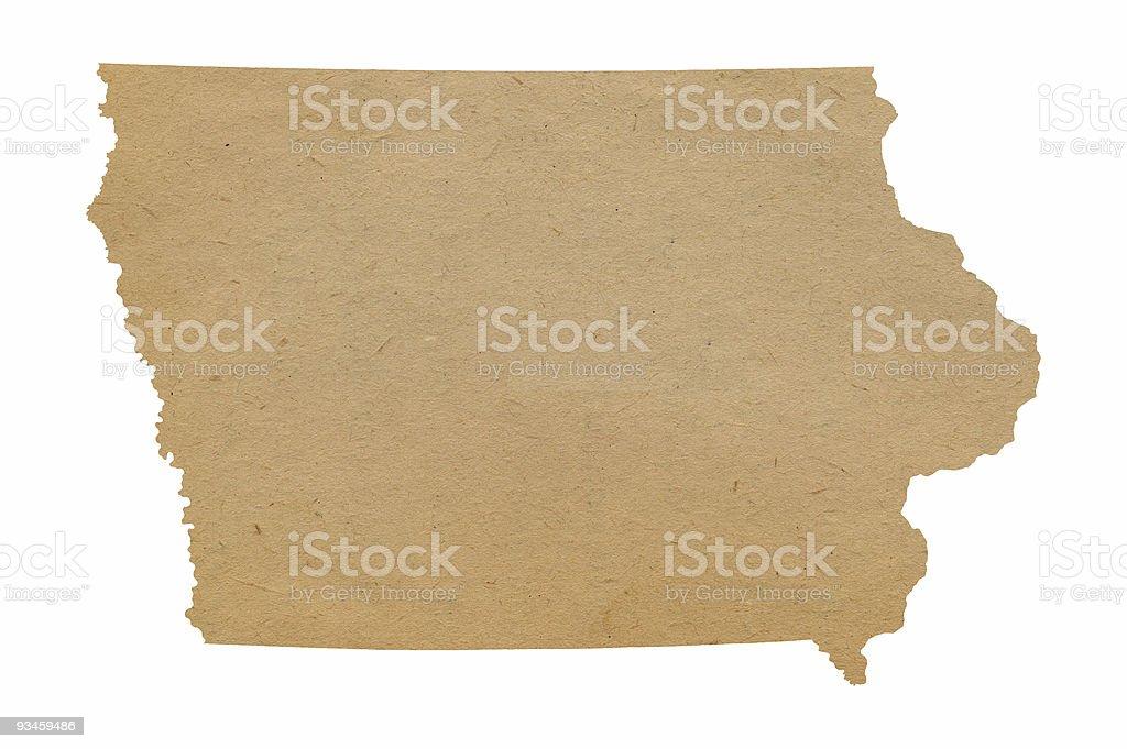Iowa Recycles royalty-free stock photo