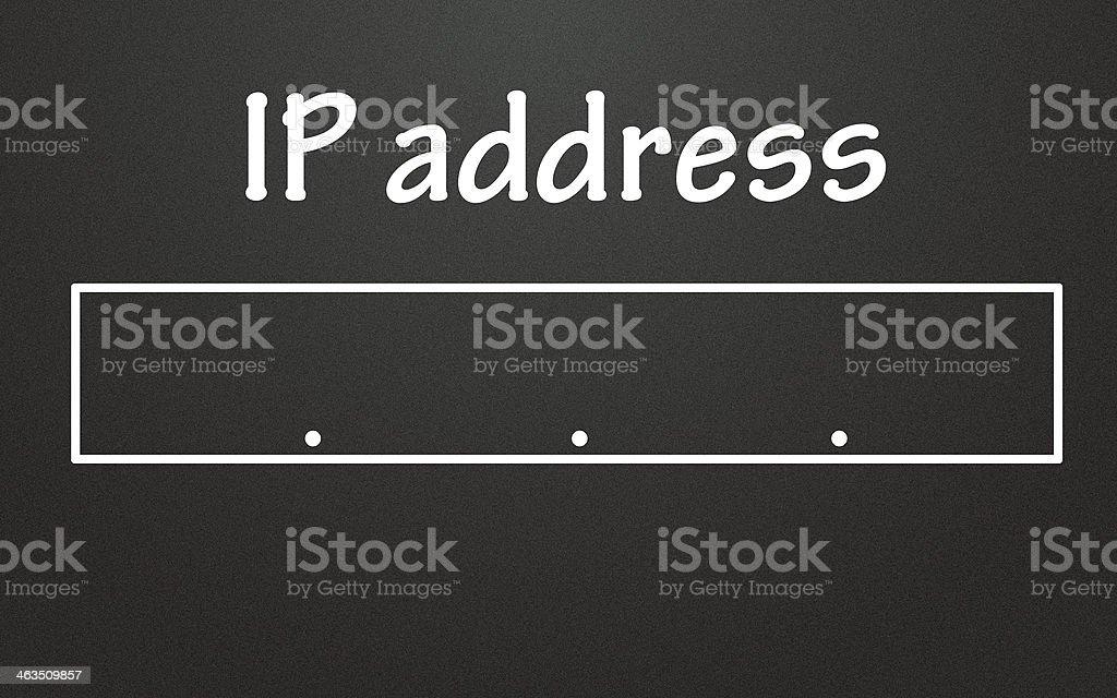 ip address stock photo