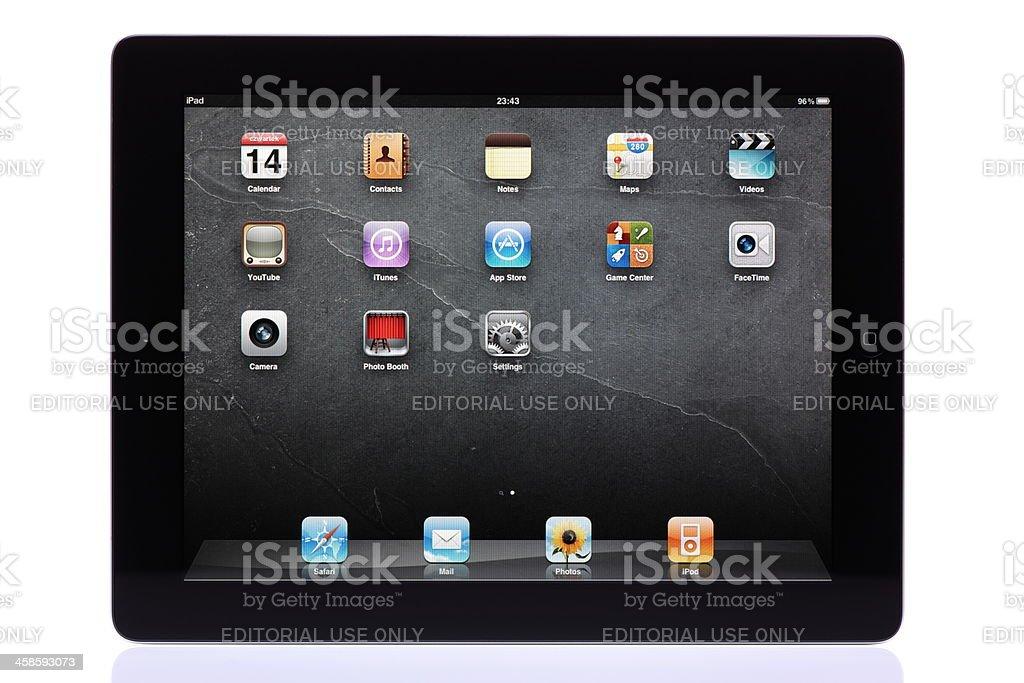 iPad 2 royalty-free stock photo