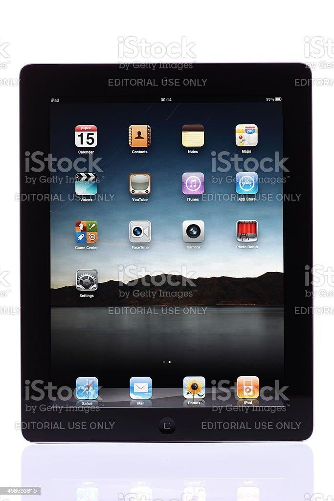 iPad 2 stock photo