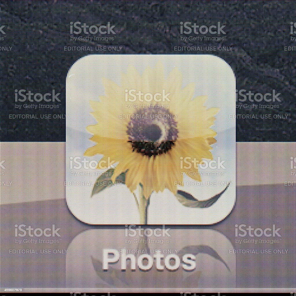 Ipad 3 icon royalty-free stock photo