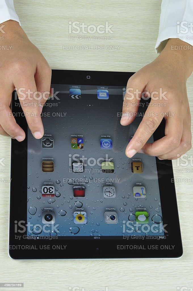iPad 4 royalty-free stock photo