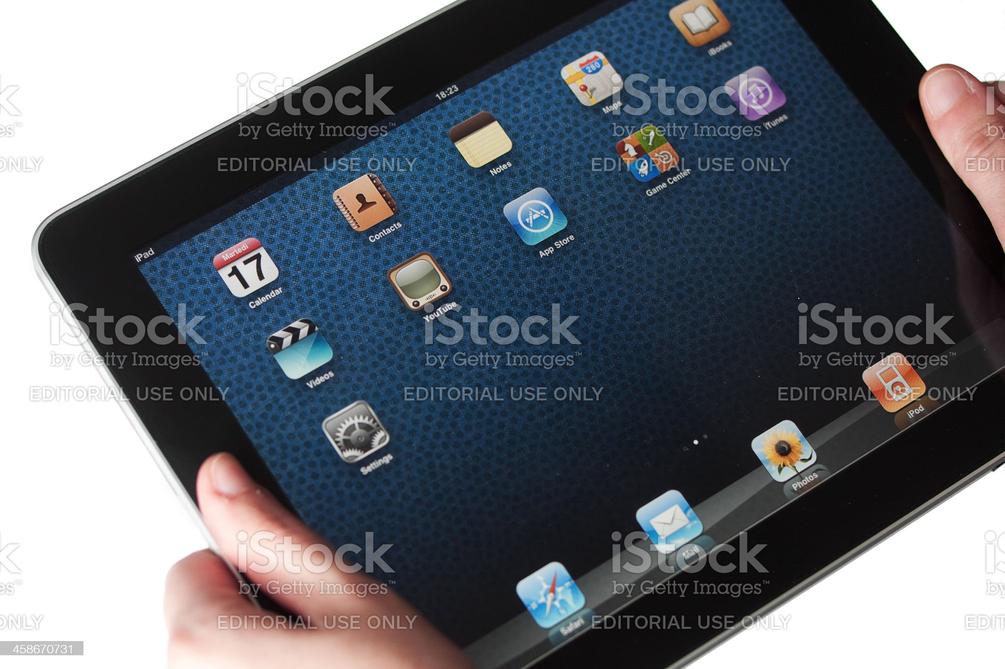 iPad by Apple Computers royalty-free stock photo
