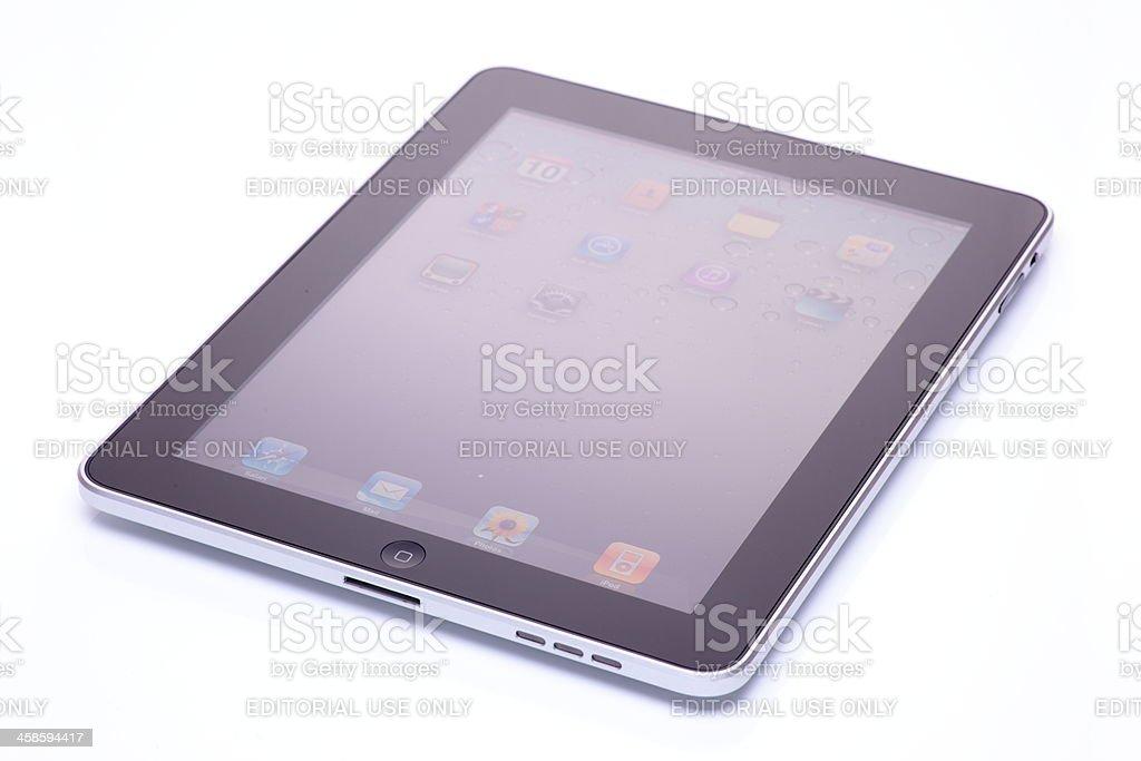 iPad Isolated on White royalty-free stock photo