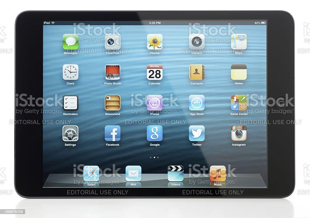 iPad Mini royalty-free stock photo