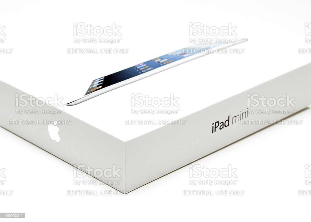 iPad Mini royalty-free stock photo
