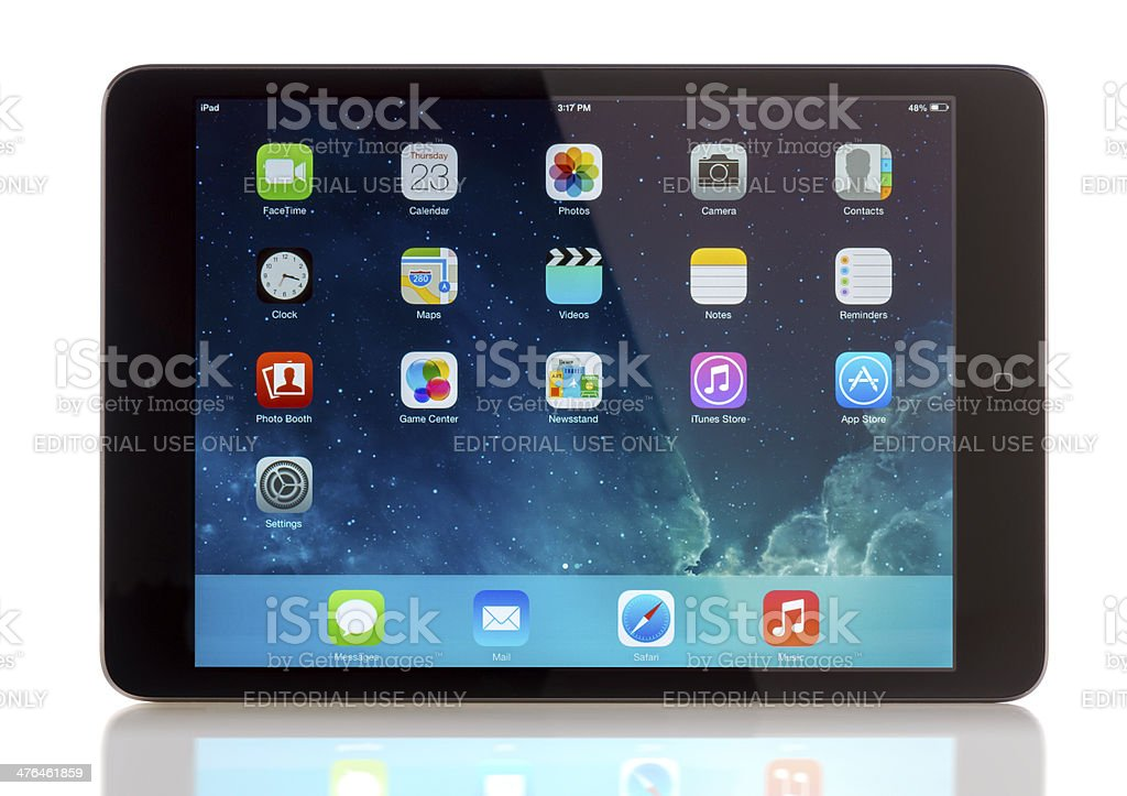 iPad mini stock photo