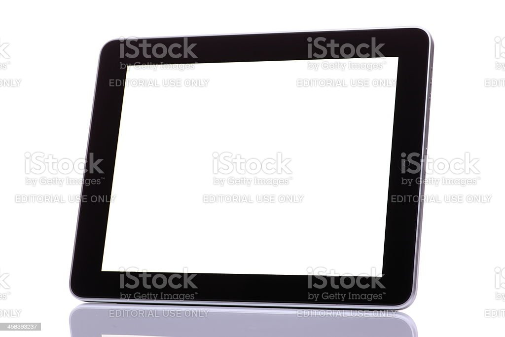 iPad royalty-free stock photo