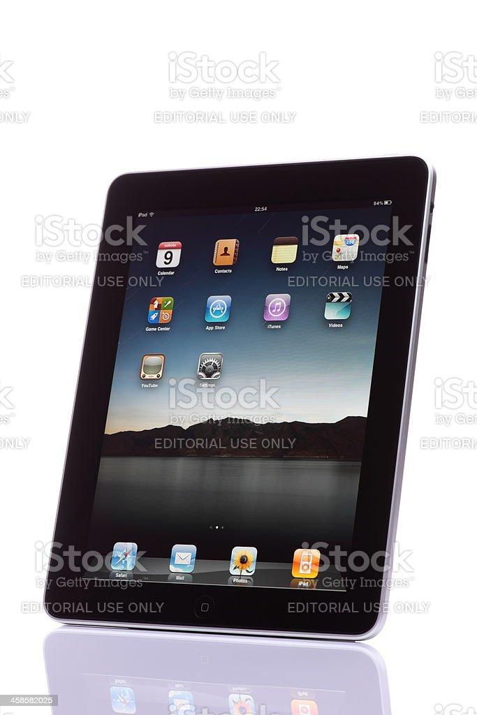 iPad royalty-free stock photo