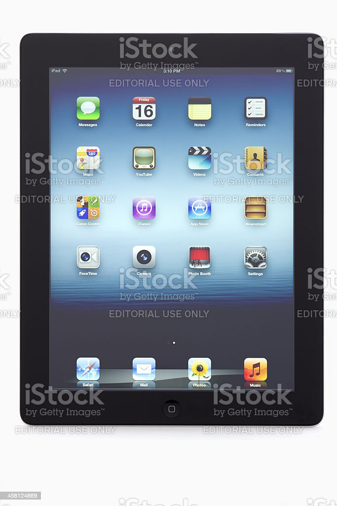 iPad revolution royalty-free stock photo