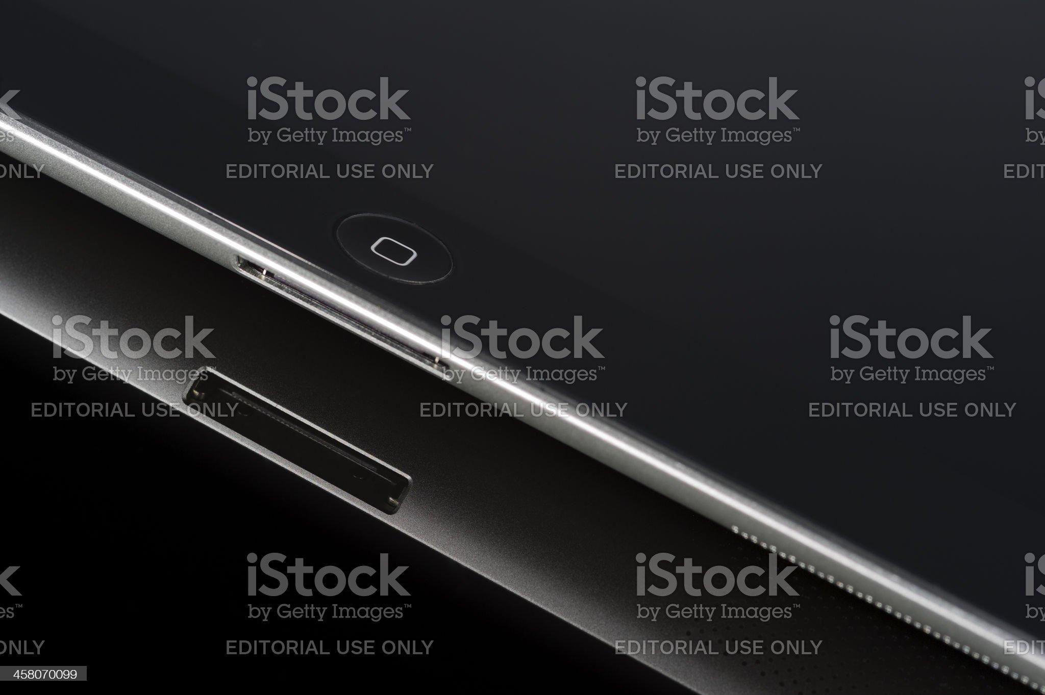 IPad3 close up royalty-free stock photo