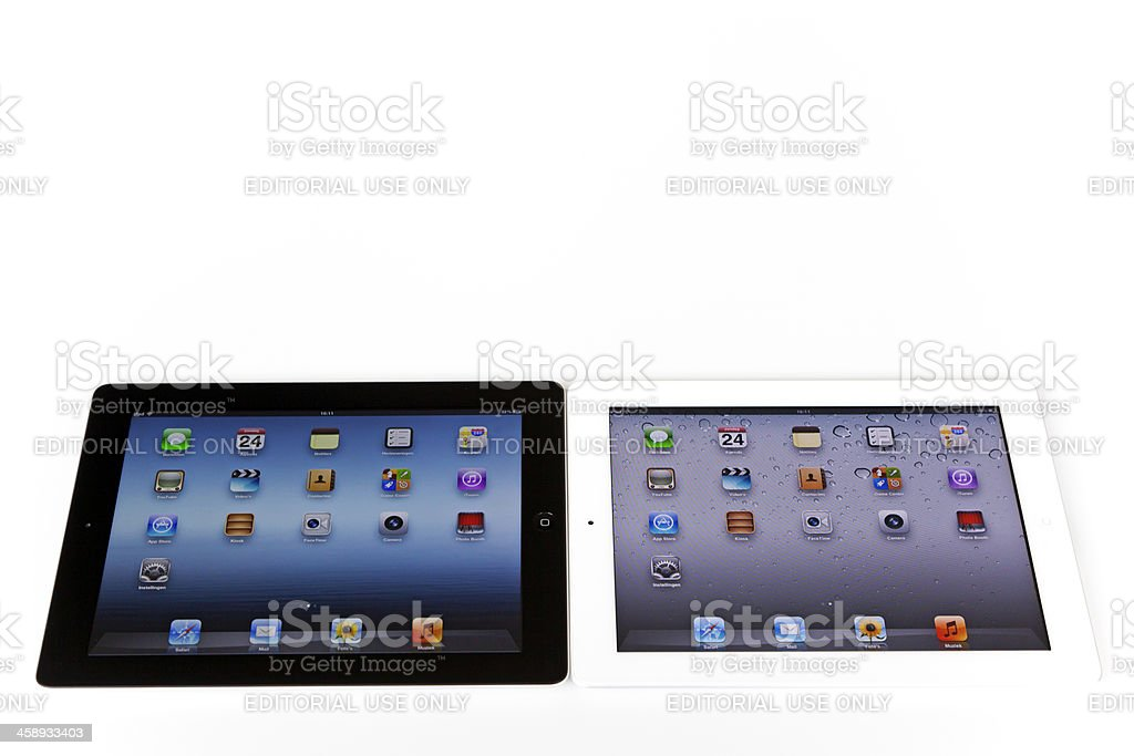 iPads # 2 XXL royalty-free stock photo