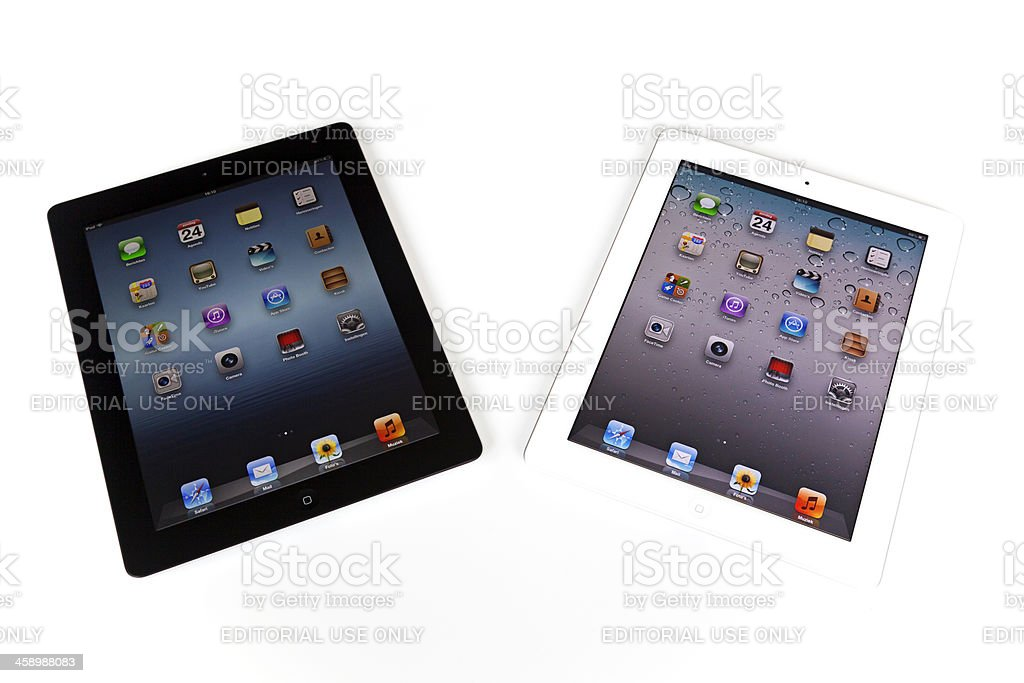 iPads # 1 XXXL royalty-free stock photo