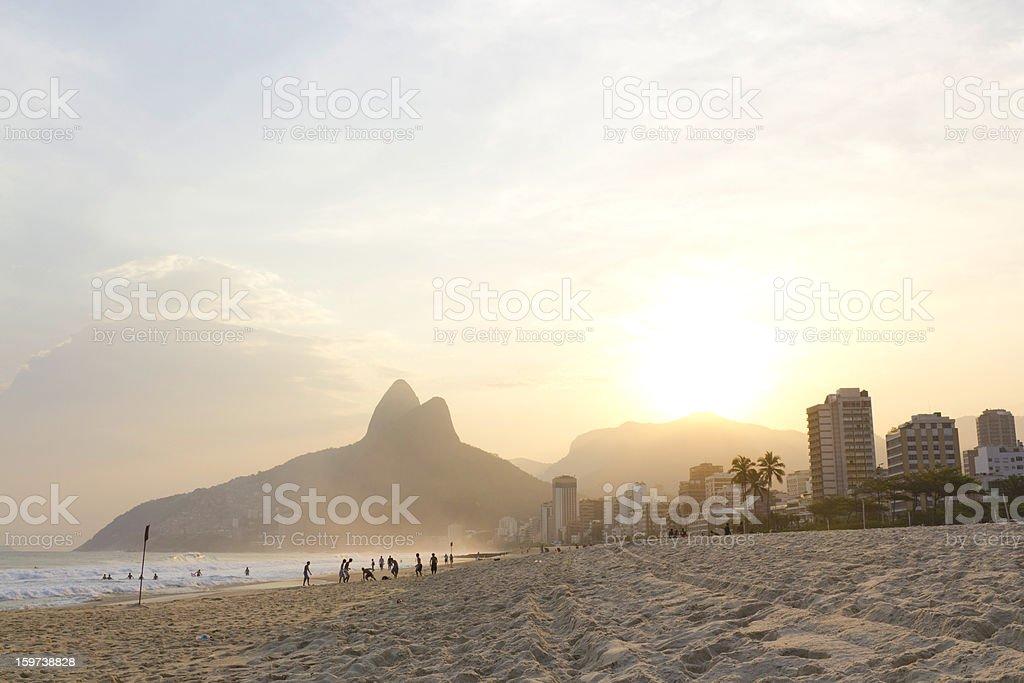 Ipanema Beach stock photo