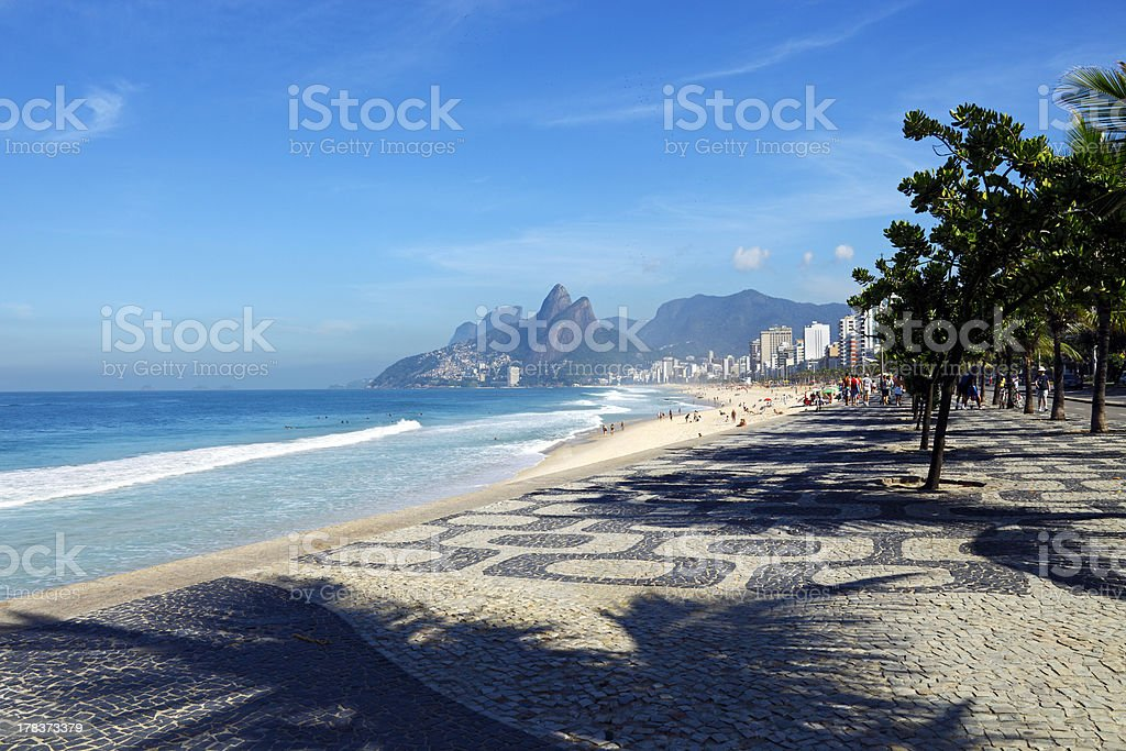 Ipanema, Rio de Janeiro stock photo