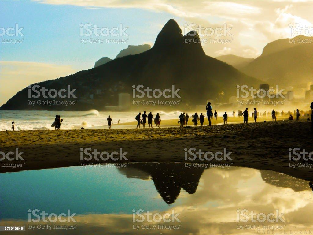 Ipanema , Rio de Janeiro stock photo