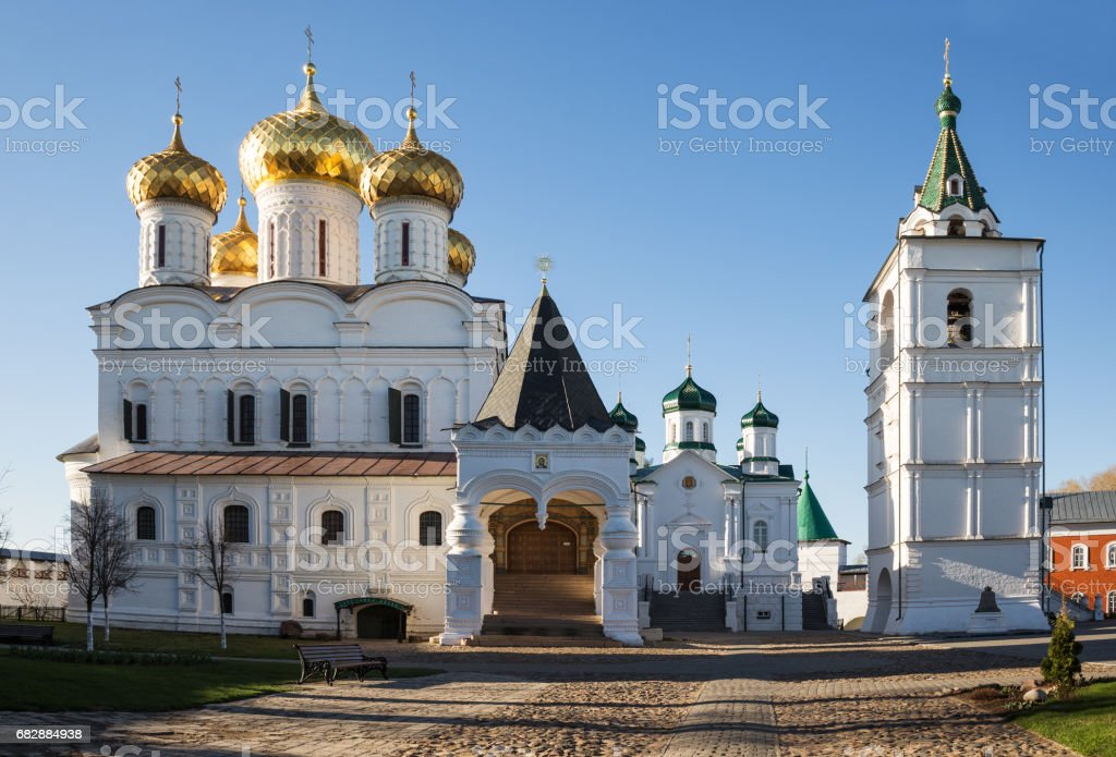 Ipatiev Monastery, Kostroma, Russia stock photo