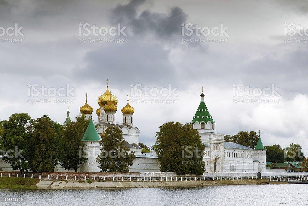 Ipatievsky monastery, Kostroma, Russia stock photo