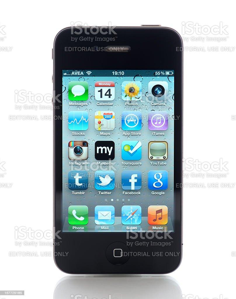 iPhone 4 royalty-free stock photo