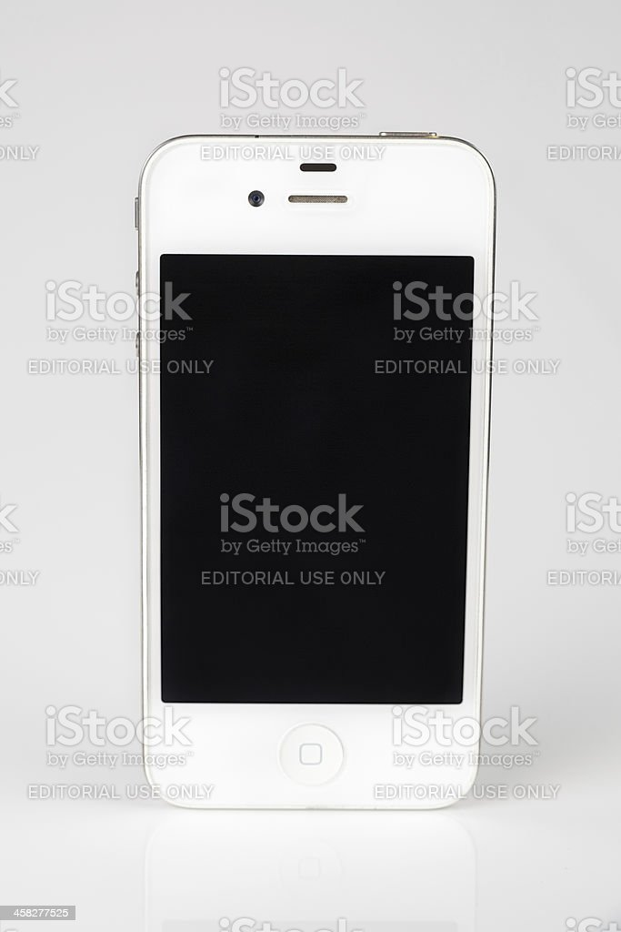 iPhone 4 royalty-free stock photo