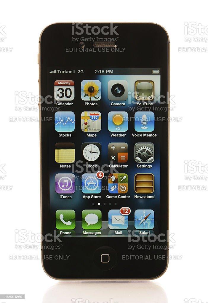 iPhone 4s stock photo