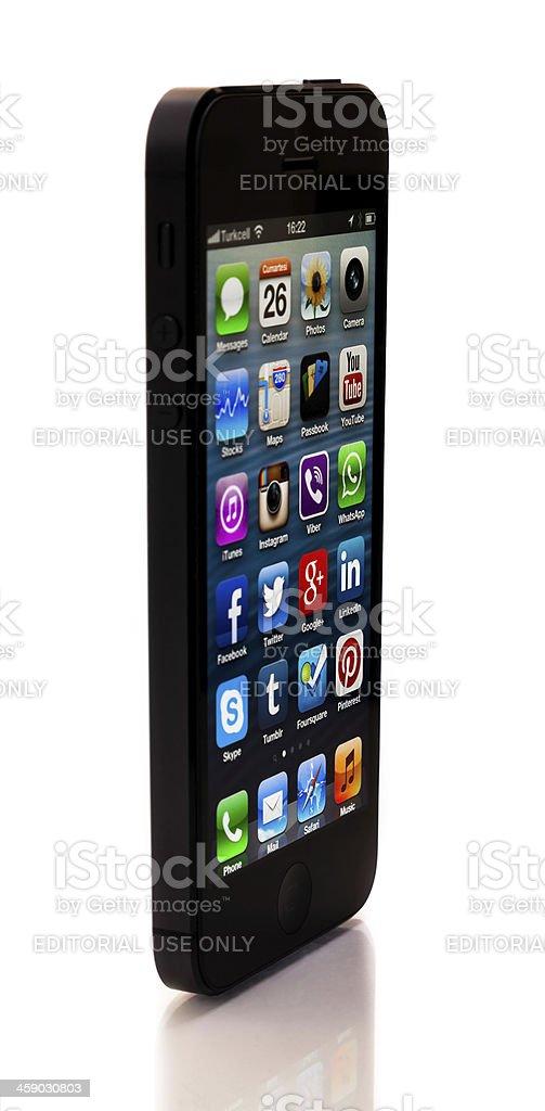 iPhone 5 royalty-free stock photo