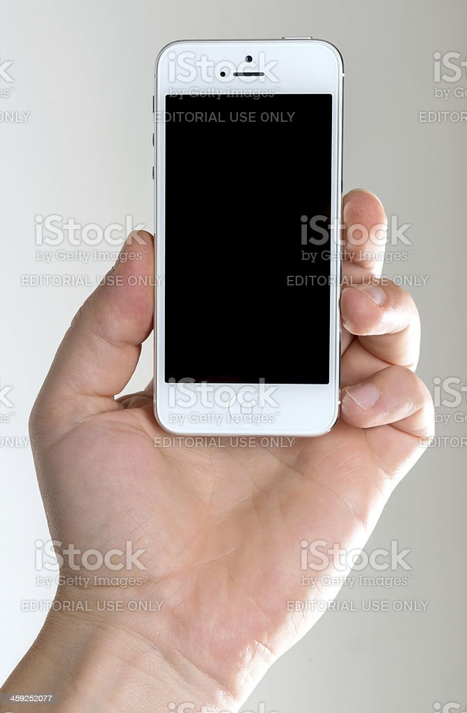 iPhone 5 royalty-free stock photo