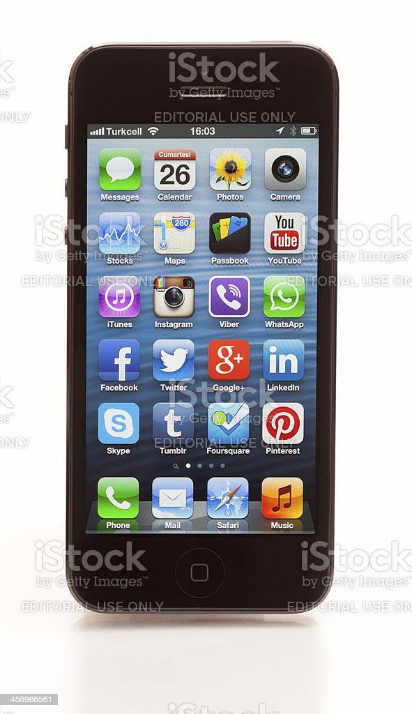 iPhone 5 XXL stock photo