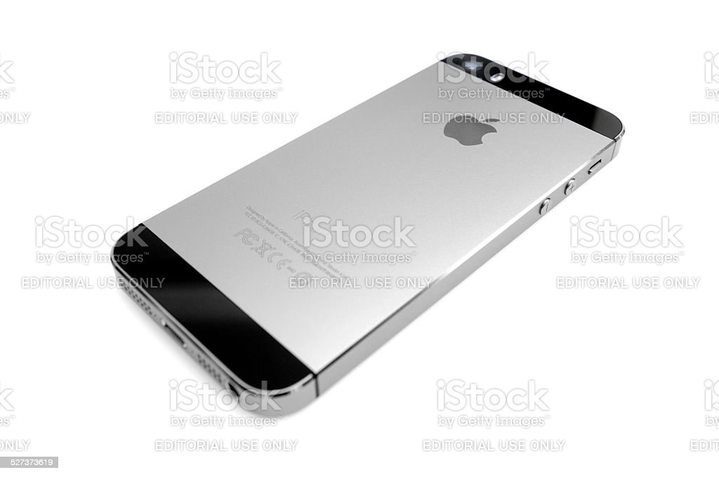 iPhone 5s - Back stock photo