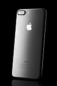 Varna, Bulgaria - December, 04, 2016: Iphone 7 plus isolated