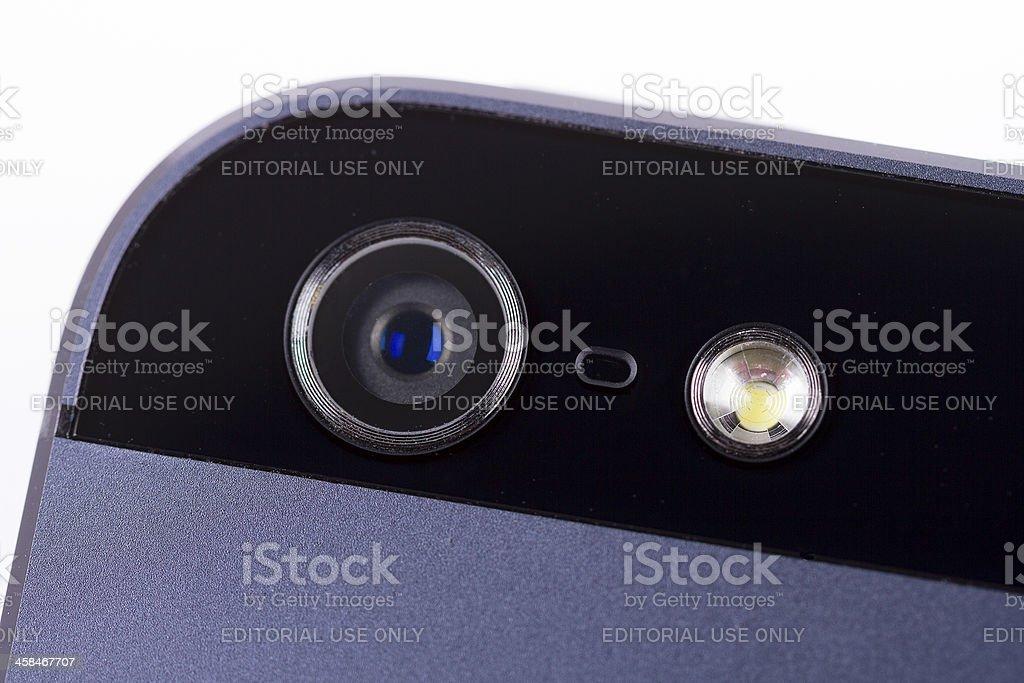 Iphone camera lens royalty-free stock photo