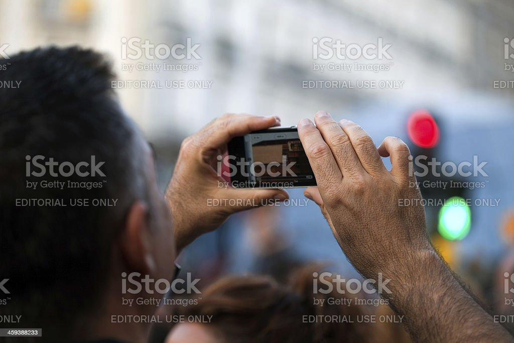 iPhone photo/video royalty-free stock photo