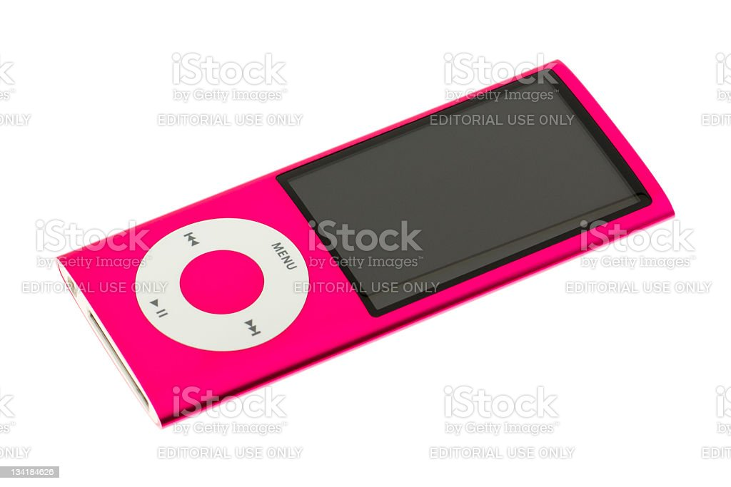 iPod nano 5G stock photo