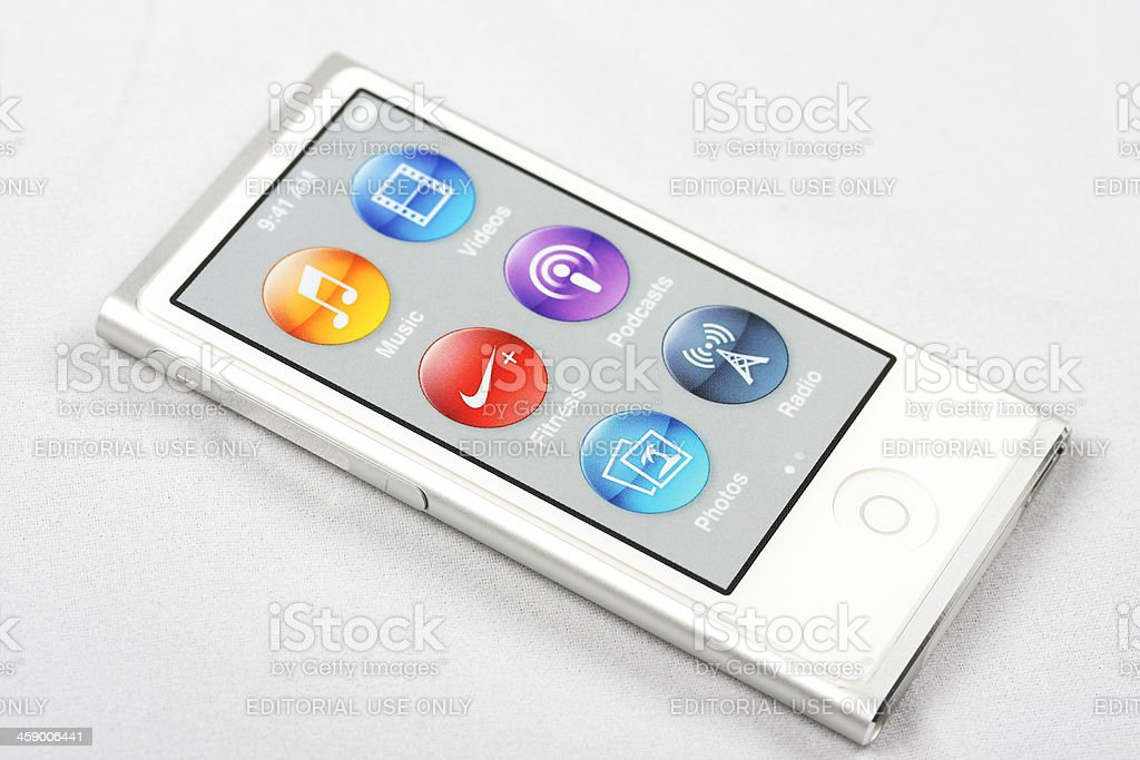 Ipod Nano royalty-free stock photo