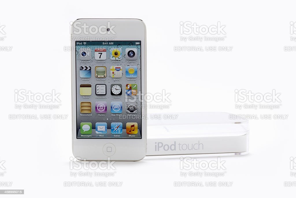 Ipod Touch 4th Generation royalty-free stock photo