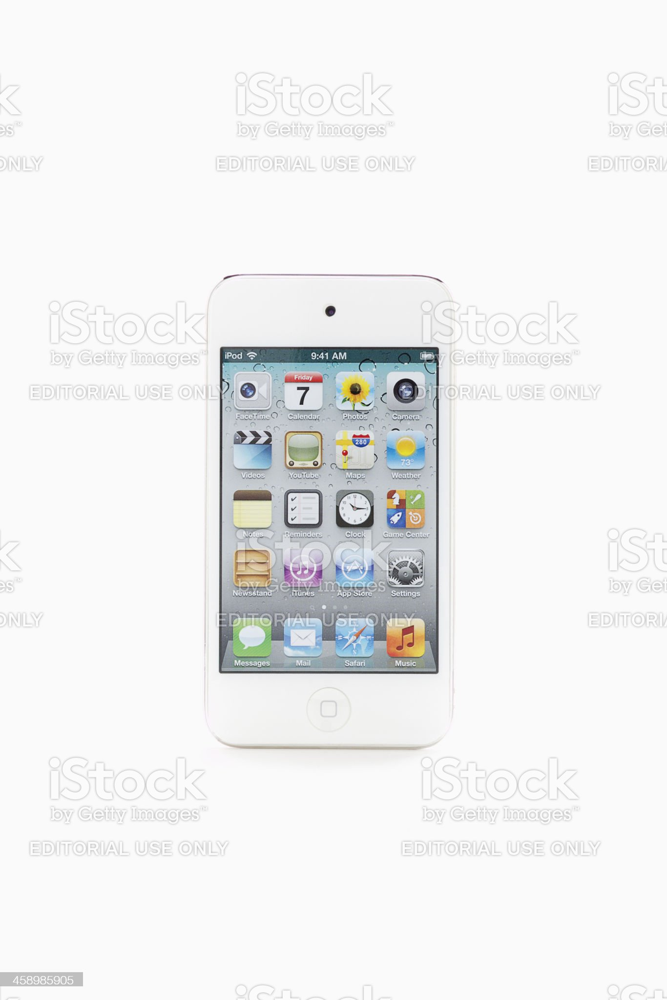 iPod Touch royalty-free stock photo