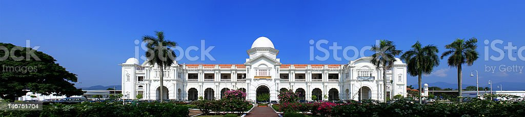 Ipoh Railway Station stock photo