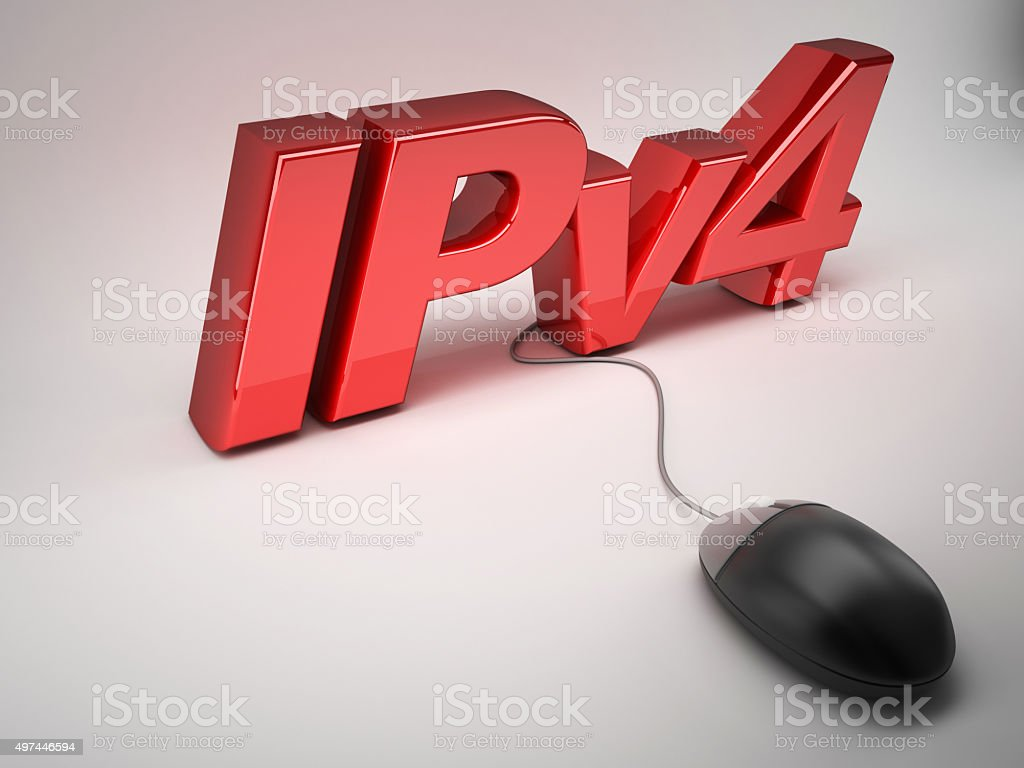 ipv4 stock photo