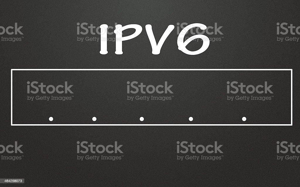 ipv6 stock photo