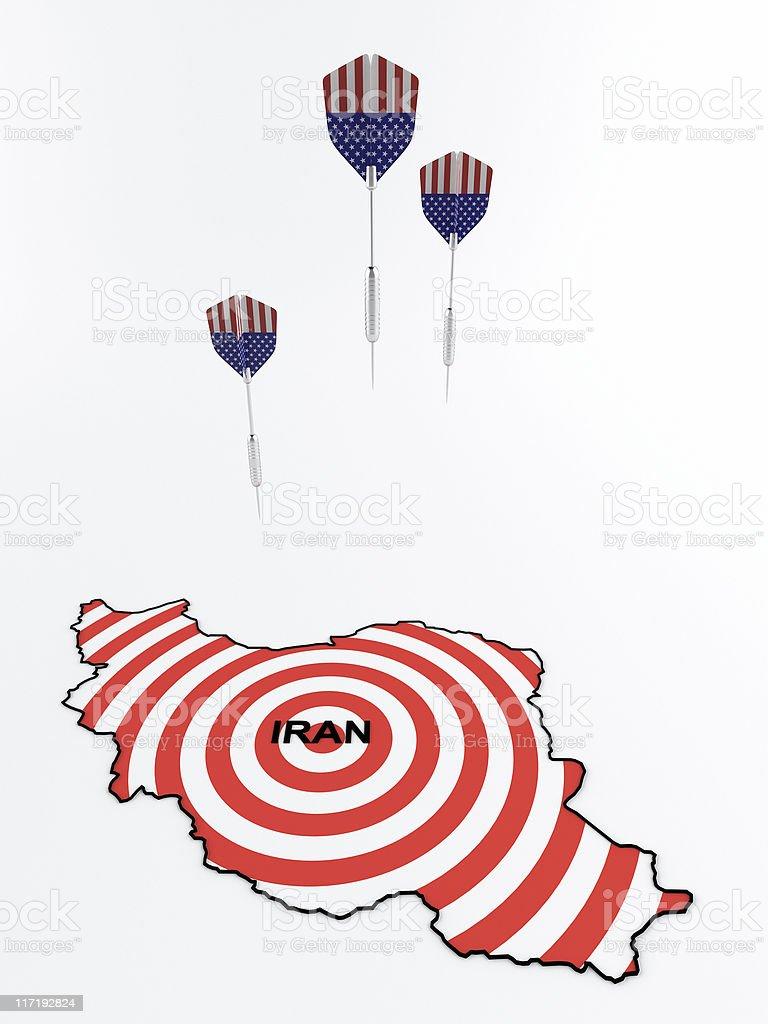 iran conflict stock photo